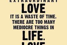 Words on love