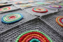 Crochet Blankets Tutorials, Patterns and Colourful Loveliness / Blankets, squaere motifs for blankets and the occasional cushion sneaking in