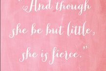 And though she be...