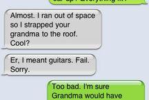 Funny / by Michaela Johnson