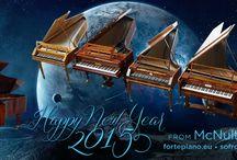 McNulty Fortepiano / McNulty Fortepiano NY card
