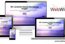 WEB WING / Verleih deiner WEB Seite Flügel! Wir bieten Wordpress Schulung, Homepage Design, Rundumlösungen für den Internet Auftritt, Beratung!
