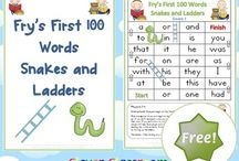 snakes and ladders word game