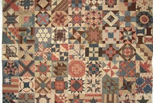 Civil War Quilts / Finding out about Civil War Quilts and gathering patterns