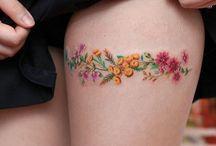 Tattoo - flowers