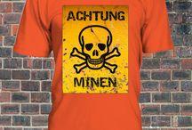 """""""ACHTUNG""""  T-SHIRT / ElNaple 1926 fanshop T-shirt  http://bit.ly/ElNapleFanShop"""