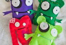 dolls teddys pillows new art