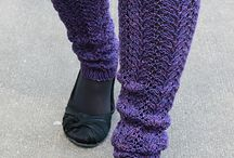 Leg warmers and Boot Cuffs