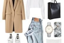 Outfit flatlays