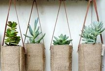 Burlap Coffee Sack Projects