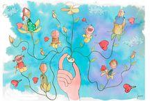 Marcos Severi Illustrations / by Gabriela Donati