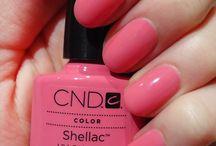 Shellac nail's polishes