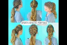 Hairstyles and braids