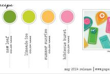 Papertrey Color Combos / by Betsy Veldman