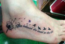 Tattoo's / I think I'm doing this? Bucket List