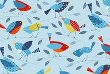 birds motive