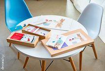 Con Trompa y Cartón y Decoratrix en nuestras tiendas. / Colaboración entre Con trompa y Cartón y Decoratrix en las tiendas de El Globo Muebles.