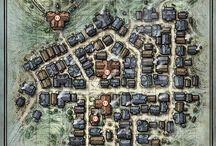 Maps - D&D, Fantasy
