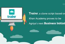 Agriya Trainr - Khan academy template / Agriya's khan academy clone, a web based training software helps you to build an online training platform with all advanced facilities and revenue options