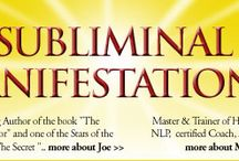 Subliminal Manifestation products / These products work to directrly train the subconscious mind for positive prosperity programming and prosperity consciousness.
