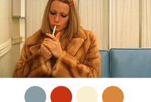 films colour palettes