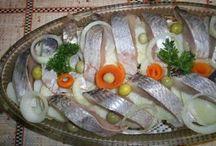 Кулинария. Засолка рыбы. ( cooking . Salting fish)