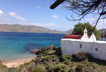 Mykonos Beaches / The gorgeous sandy beaches of Mykonos and its crystal, blue waters