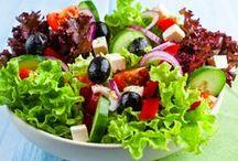 Receita de Salada de verduras
