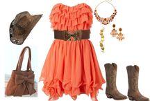 Western outfits / Sko, hatte, tøj, smykker osv. osv...