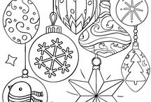 Christmas coloringpages