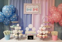 Gender Reveal / Ideas for a gender reveal party