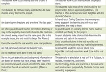 Projects/Project Based Learning