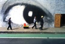 pieces of urban art