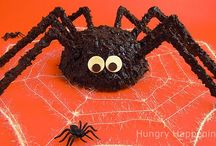 """Halloween Recipes / Note: For fall recipes that can double as Halloween recipes, please see my """"Food and Drink"""" board."""