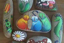 Ζωγραφική σε πέτρες-54