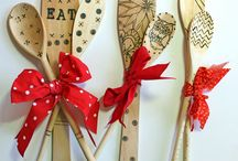 Wooden Spoons / kitchen Gifts