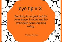 Eye Tips / Little tips to help keep your eyes healthy