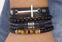 moda masculina - pulseiras