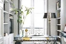 home offices / by Carolyne Calvin