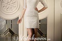 Nuestros Vestidos de Novia / hermoso vestido de novia @ vestidosmios.mx / by Moda Vestidos