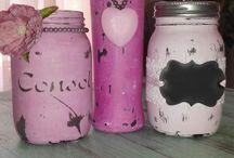 Huggabeans Mason jars