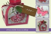 CraftEmotions Stanzschablone Chocolate Box Butterfly