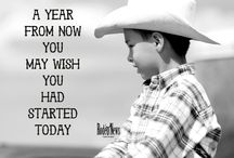 Quotes / Encouraging, uplifting, and motivating every rodeo enthusiast through photos and quotes