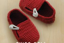 Baby booties 9 - Moccasins