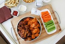 Wings and Wipes / It's tailgating season!  Make sure you are prepared to feed the fans and tackle the mess.