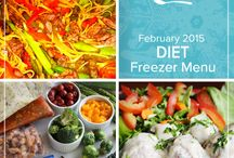 Diet February 2015 Menu (WW Friendly) / Fill your freezer with some familiar favorites as well as some internationally inspired dishes. From banana bread to Cuban Picadillo style ground beef this Diet February 2015 Menu brings out flavors that comfort and warm from the inside out. / by Once A Month Meals