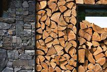 ranger le bois