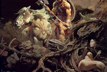 Fantasy-Frank Frazetta / Grand illustrateur de fantasy