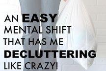 Decluttering!