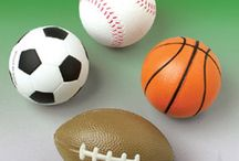 Sport themed events / Carnival Source offers toys, novelties and party supplies for anyone throwing a sports themed party, including football, basketball, baseball and more.  Fill the kid's treat bags with our fun but low priced items.